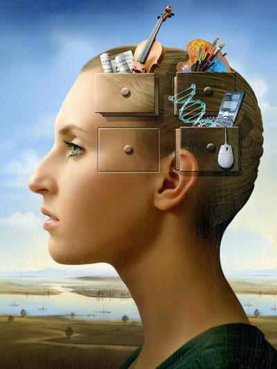 Memory conceptual image